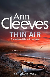 Thin Air by Ann Cleeves - Reading, Writing, Booking Blog
