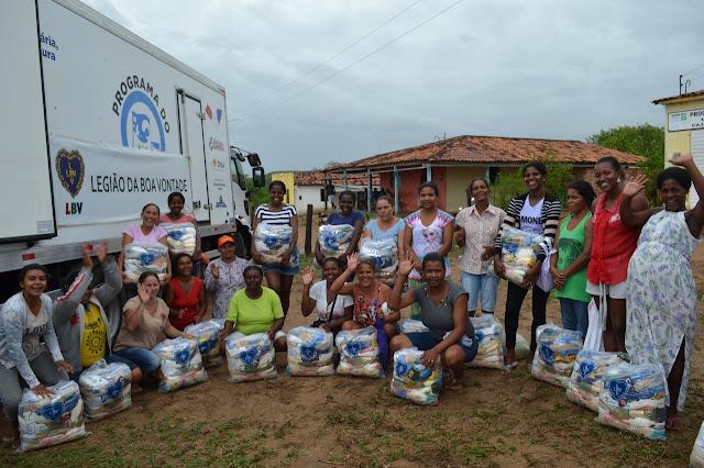 LBV assiste famílias quilombolas do Agreste e Sertão de Alagoas