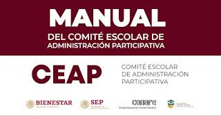 Manual del Comité Escolar De Administración Participativa.