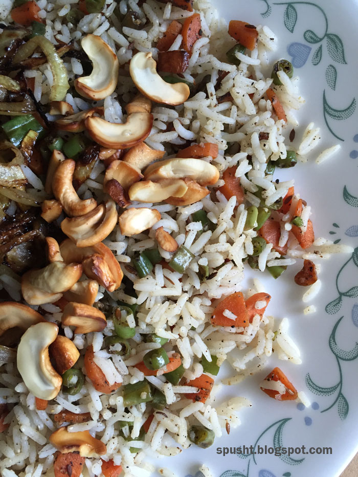 vegetable pulao veg pulao