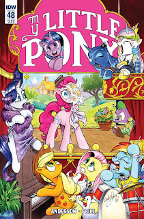 MLP Friendship is Magic Comic #48 by IDW Regular Cover by Andy Price