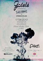 Concierto de Gotelé y Stereocolor en Sala Alive