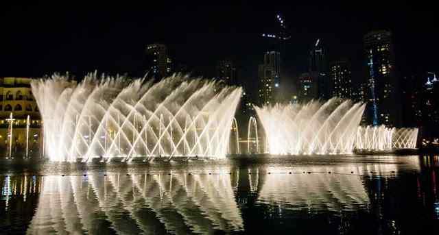Air Mancur, Dubai Fountain