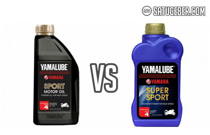 gambar perbedaan oli yamalube sport dan supersport