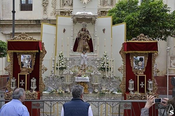 Horario e Itinerario de los Traslado para sus altares del Corpus de Jerez de la Frontera este sábado