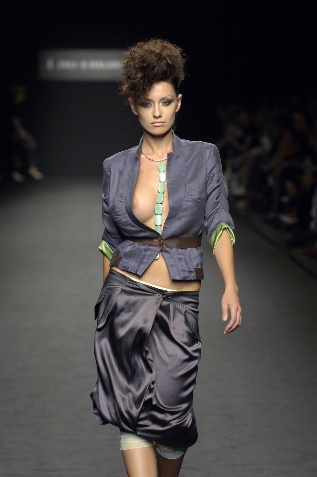 Nude Model Catwalk 14