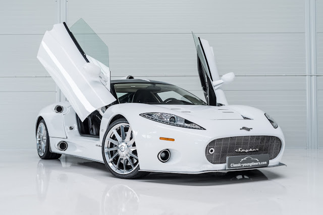 2011 Spyker C8 Aileron - (1 of only 5) for sale at Classic Youngtimers Consultancy for EUR 475,000 - #Spyker #C8 #Aileron #supercar #tuning #forsale