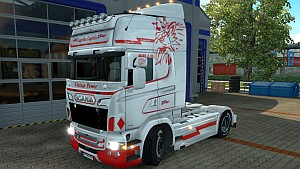 Scania RJL Lagertha Logistic