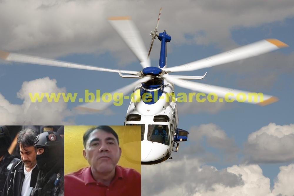 """Dámaso todo un """"CAPO VIP"""",  se movía por la capital en helicóptero y swift,"""