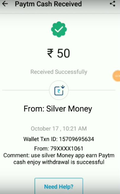 Silver Money Payment Proof :