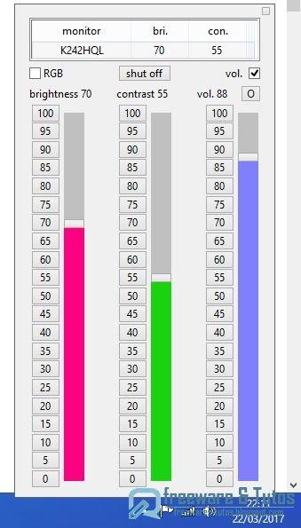 ClickMonitorDDC :  un logiciel portable pour régler l'affichage de votre écran