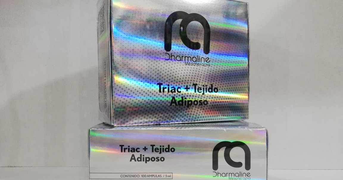 Triac + tejido adiposo 100 ampollas x 5 ml - precio
