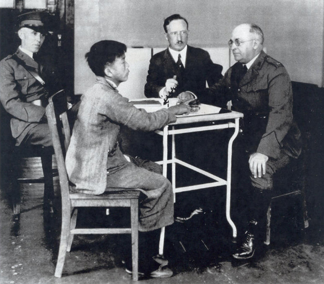 An analysis of chinese at angel island