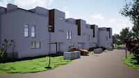 projekt osiedla domów jednorodzinnych stare gliwice II