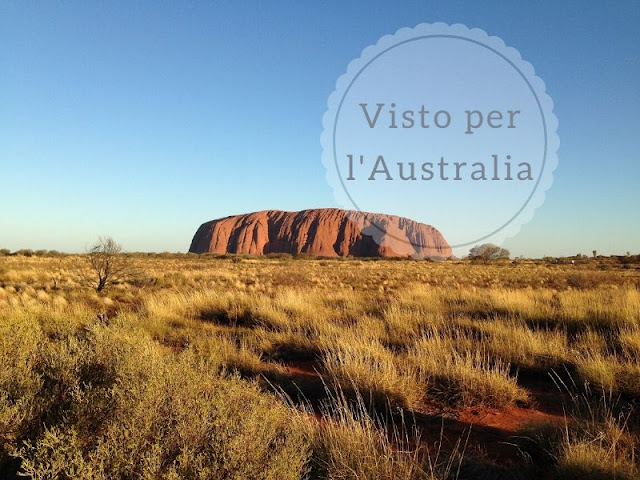 Le diverse tipologie di visto per l'Australia: uluru