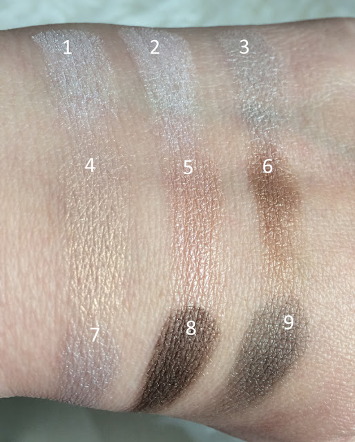 "Rival de Loop """"Mirja du Mont Eyeshadow""- Swatches"