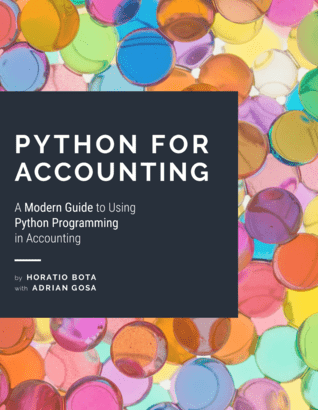 A Modern Guide to Using Python Programming in Accounting