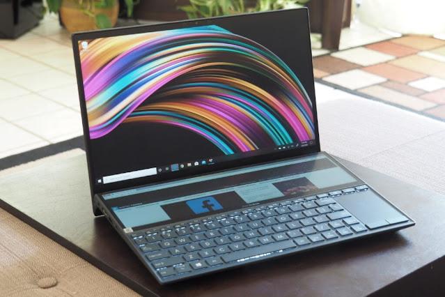 Fitur Asus ZenBook Duo 14 UX482E