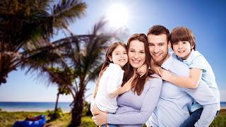 Keluarga bahagia dan tetap harmonis