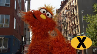 Murray raps about X words, The letter of day is X, Sesame Street Episode 4313 The Very End of X season 43