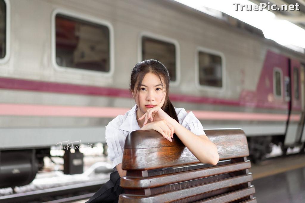 Image Thailand Model - Kornrawee Chokejindachai - Cute Student Girl - TruePic.net - Picture-2