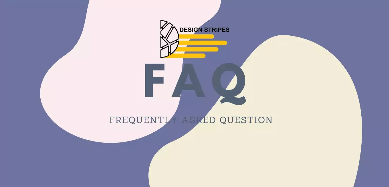Frequently asked questions for design stripes.