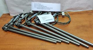For sale  TEMP 0 - 800C Temperature sensor Type K ( NiCr-N) stem L 305MM x L Cable 1500mm x 12mm stem  BAR STOCK DRILLED E-mail: idealdieselsn@hotmail.com / idealdieselsn@gmail.com