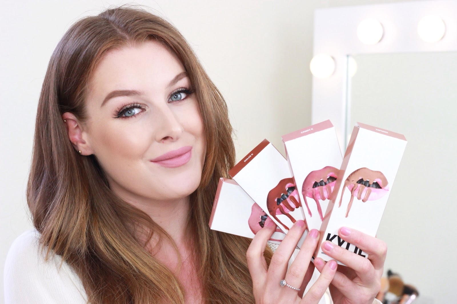 Kylie Jenner Lip Kit Swatches