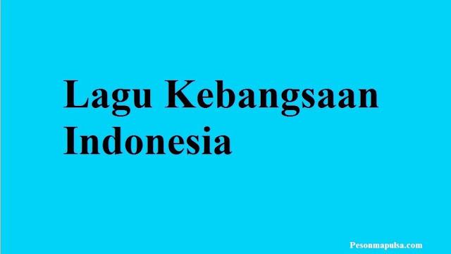 Lagu Kebangsaan Indonesia