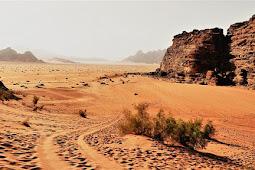 12 Destinasi wisata di Yordania selain PETRA