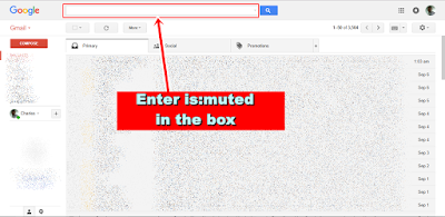 Gmail Mute - is:muted