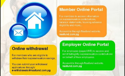 Three ways to withdraw NASFUND savings online
