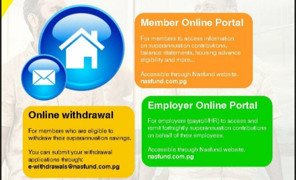 Three ways to withdraw NASFUND savings online