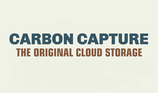 Carbon capture: The original cloud storage