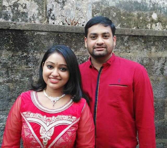 Image Credit Dimple Rose Tags Chandanamazha Amrutha Marriage Photos Daivam Thanta Veedu Seetha Engagement Photos