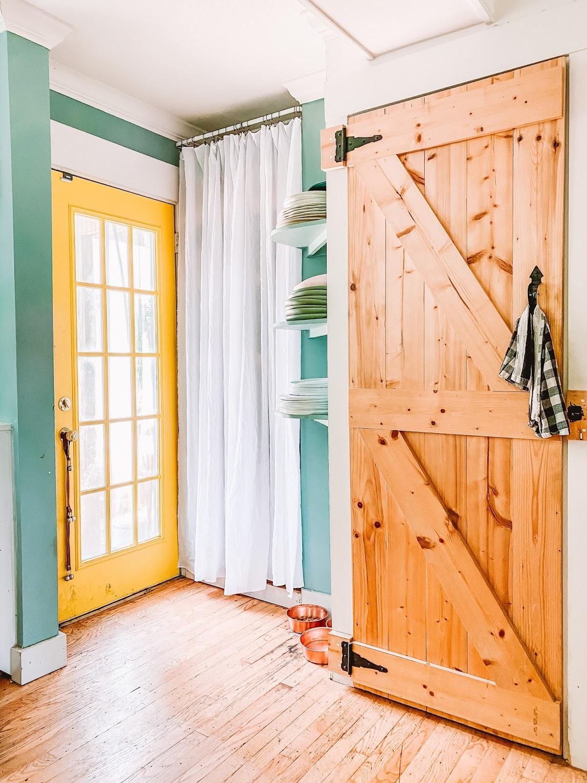 Diy Easy Kitchen Nook Curtain