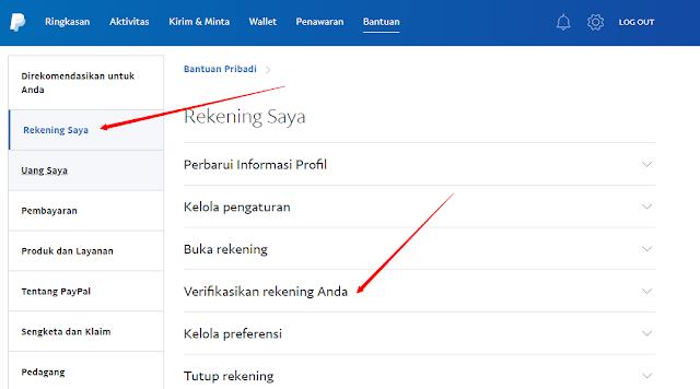 Cara Mengecek Status Verifikasi Paypal 2