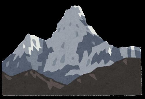 アマ・ダブラムのイラスト(山)