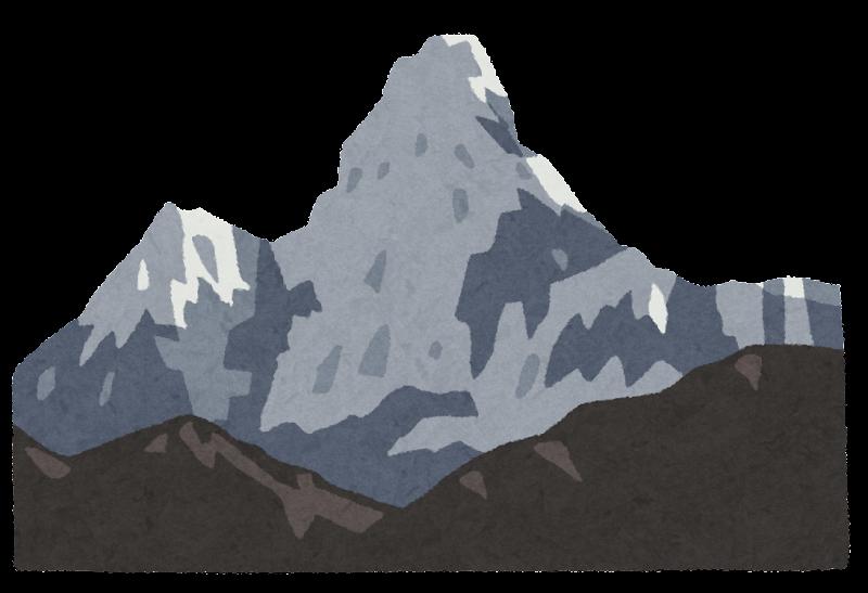 アマダブラムのイラスト山 かわいいフリー素材集 いらすとや
