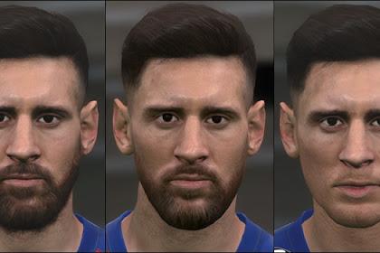 Lionel Messi Facepack - PES 2017