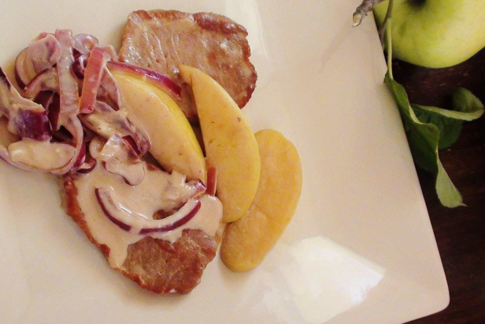 zsuzsa is in the kitchen: CARAMEL APPLE PORK CHOPS