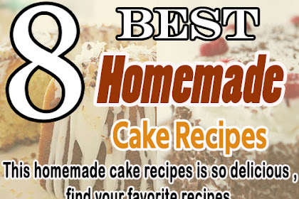 8 Best homemade cake Recipes - So Delicious