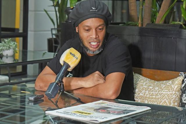 """Ronaldinho: """"Siempre hemos encontrado dificultad contra Paraguay"""""""