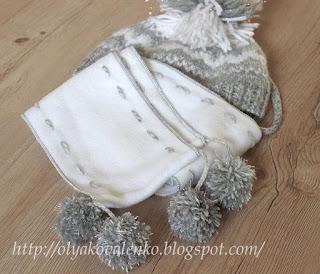 Мур-Мяу и флисовый шарфик.