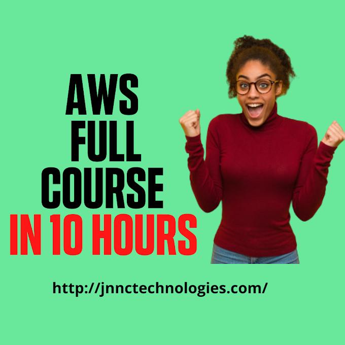 AWS Tutorial For Beginners (JNNC Technologies Pvt.Ltd)
