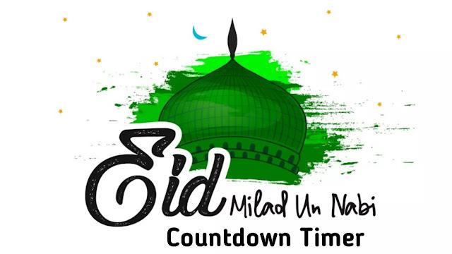 Milad un-Nabi/Id-e-Milad 2021 -  Countdown