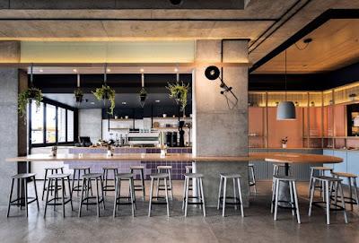 desain cafe modern terbaru