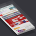 CSS Isometric Glass Layered Image Hover Theme Free Download