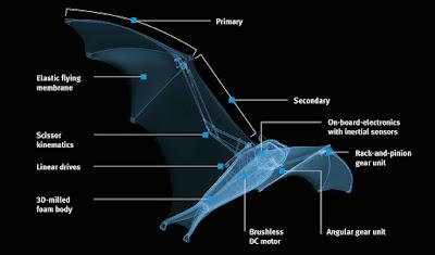 Bagian dari Smart Bird Bionic FlyingFox