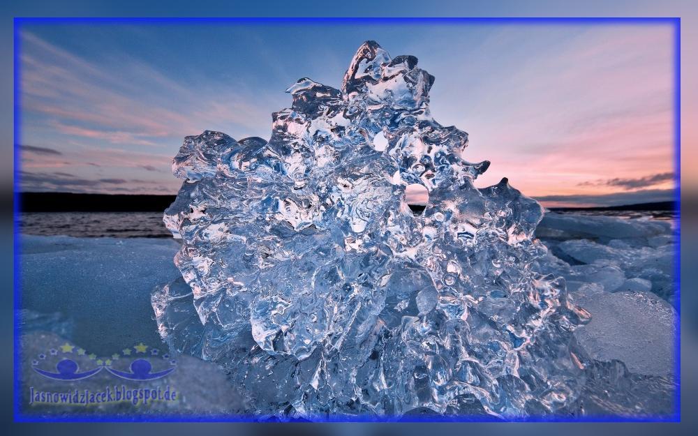 Piękna Zima na Planecie Ziemi - Lodowy Diament